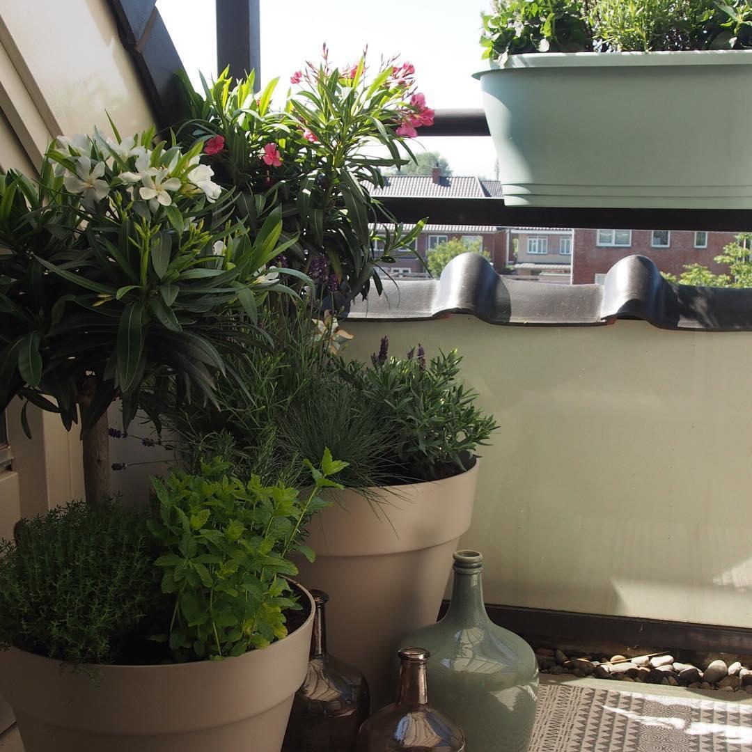 Balkon styling - SBZ Interieur Design