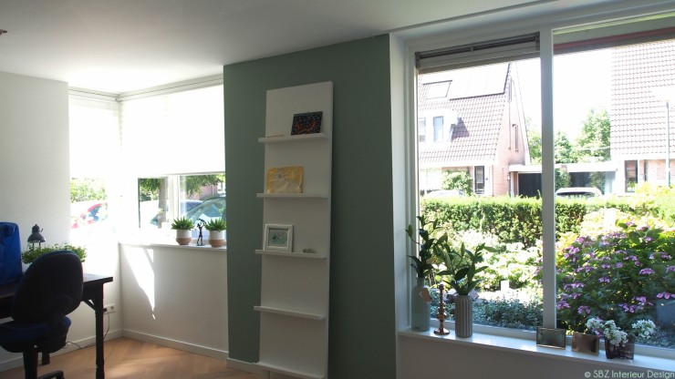 Interieur project woonkamer keuken breukelen sbz for Interieur kleuradvies