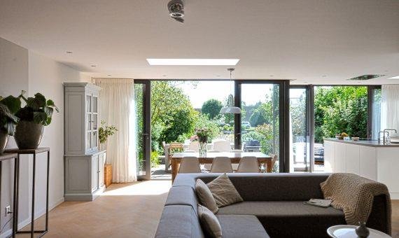 Interieur project woonkamer/ keuken – Breukelen