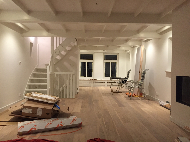 Kleur  & interieuradvies dijkwoning   amsterdam (nieuwendam) • sbz ...