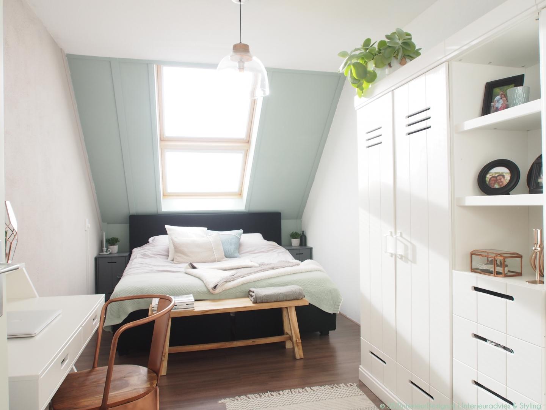 Interieur project slaapkamer uithoorn sbz interieur design interieuradvies ontwerp - Interieur slaapkamer ...