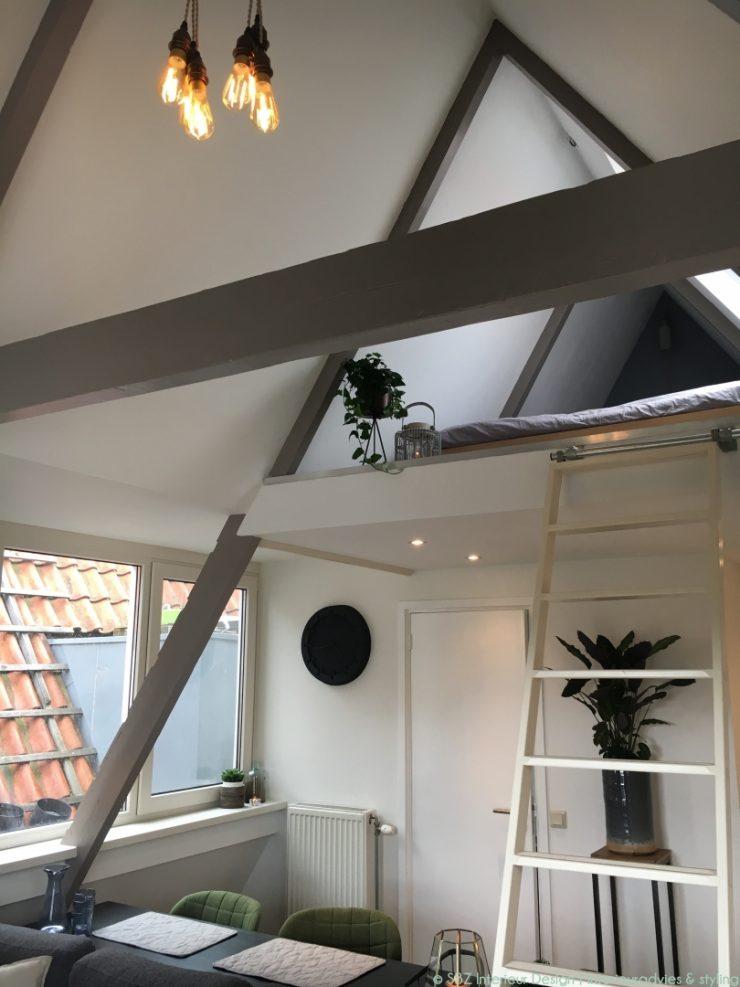 Interieur project loft appartement amsterdam sbz for Interieur loft