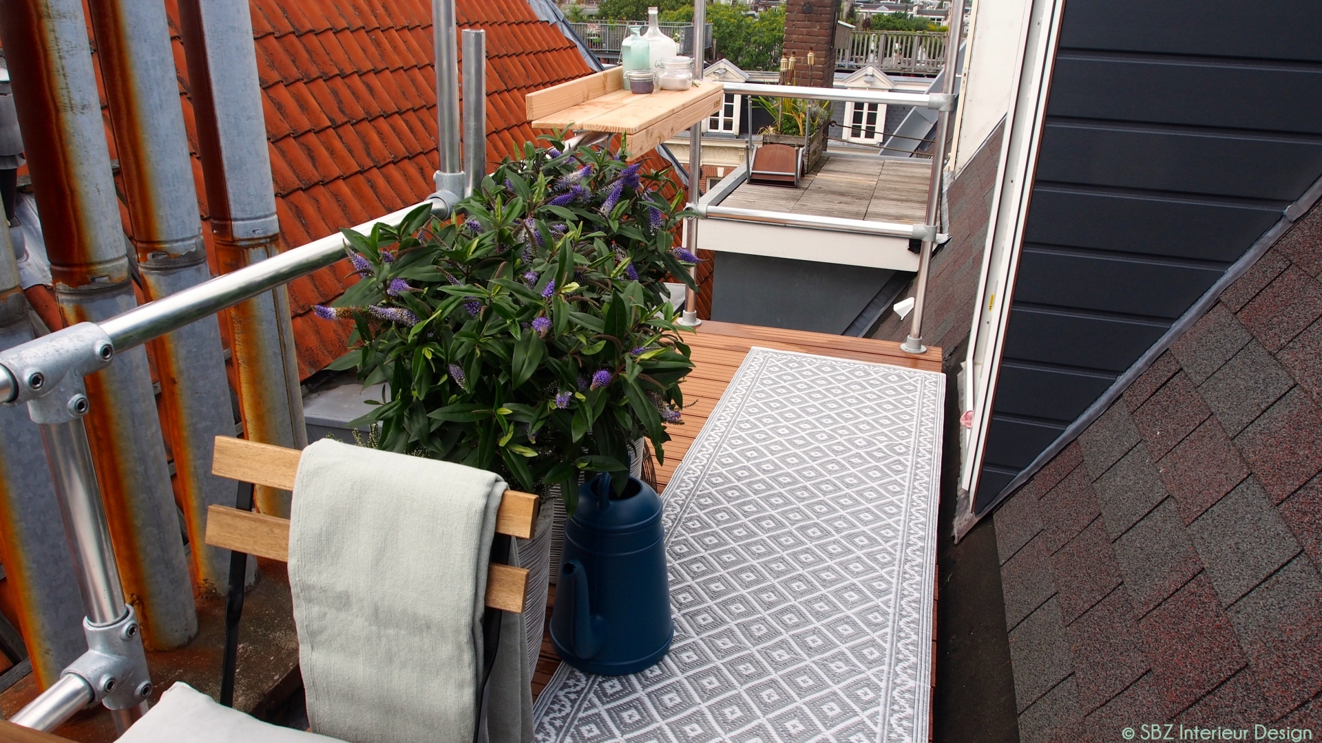 Dak terras inrichting styling amsterdam sbz for Interieur styling amsterdam