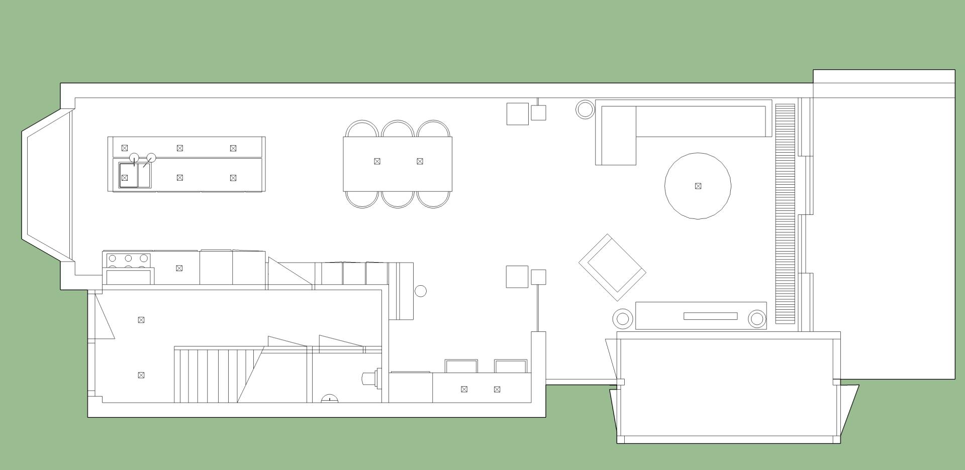 Interieuradvies interieurontwerp benedenverdieping amersfoort jaren 20 woning sbz for Interieurontwerp