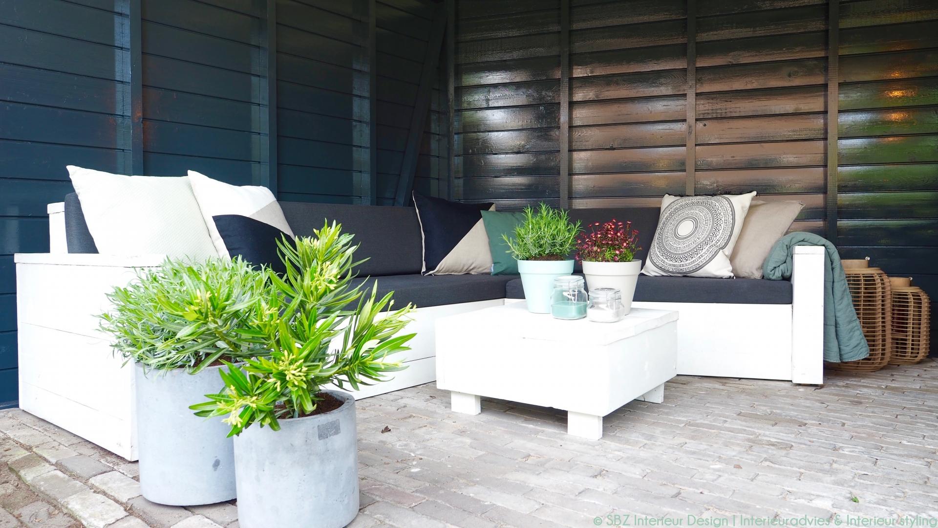 Tuin veranda styling te noord brabant sbz interieur design interieuradvies ontwerp - Tuin interieur design ...