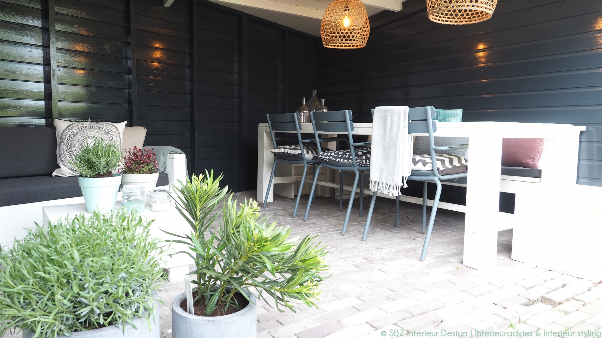 Interieur styling veranda - SBZ Interieur Design