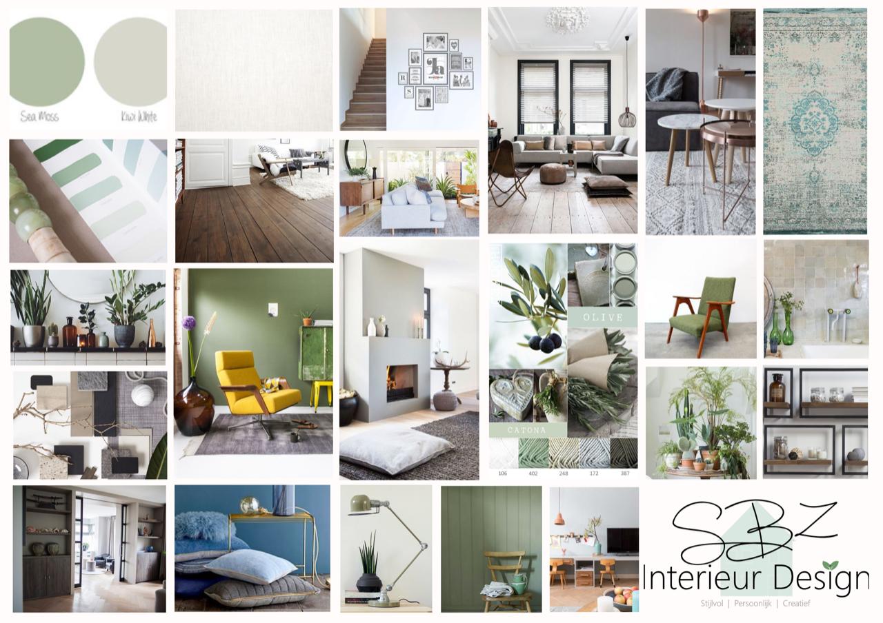 Interieuradvies en kleuradvies jaren \'20 stadswoning Den Haag • SBZ ...