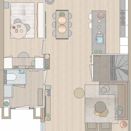 Interieurontwerp SBZ Interieur Design - Interieurdvies en interieur styling (www.sbzinterieurdesign.nl)