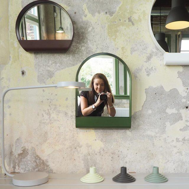 Deze spiegels heb ik gespot bij het ikealab event eenhellip