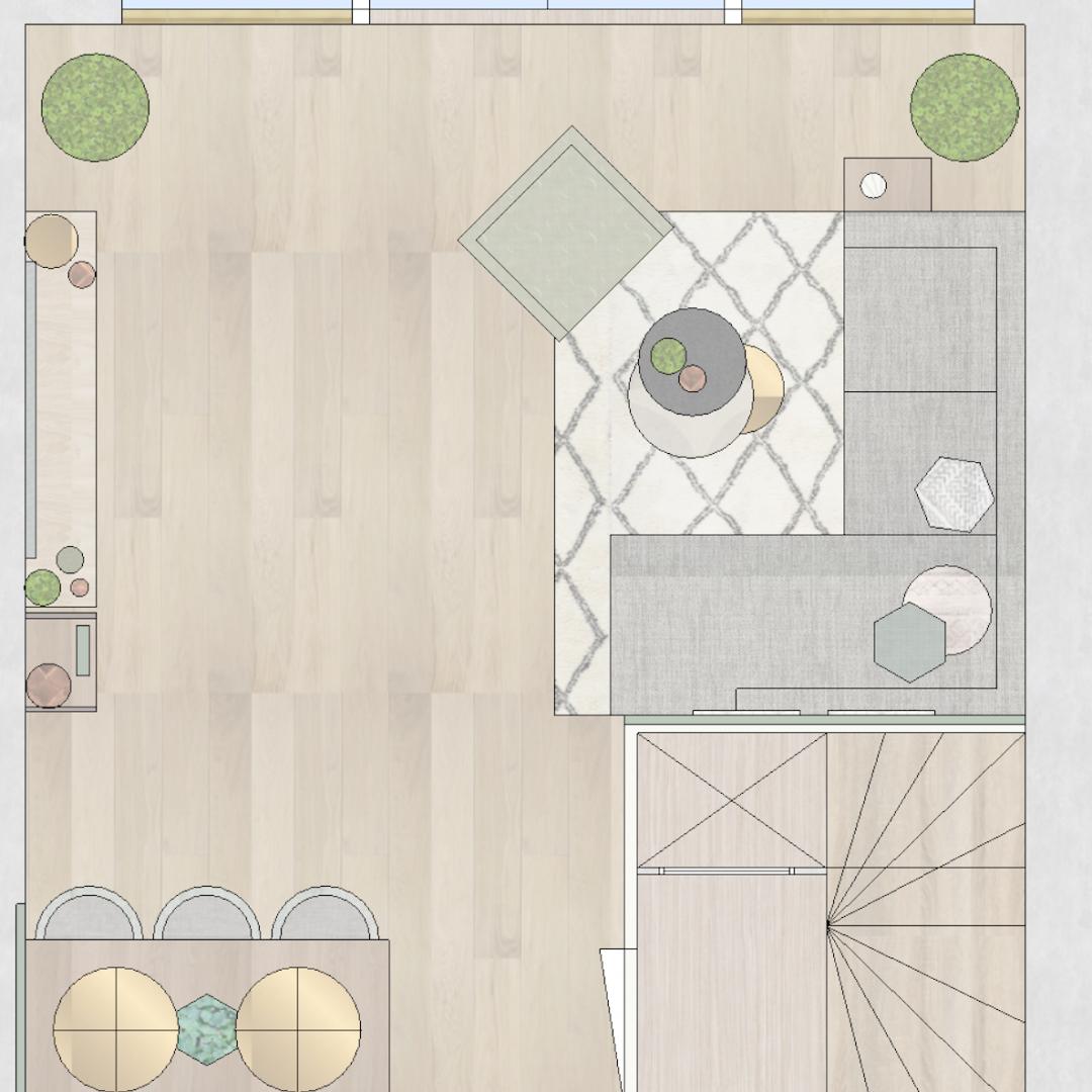 Interieurplan - Interieurontwerp - SBZ Interieur Design.