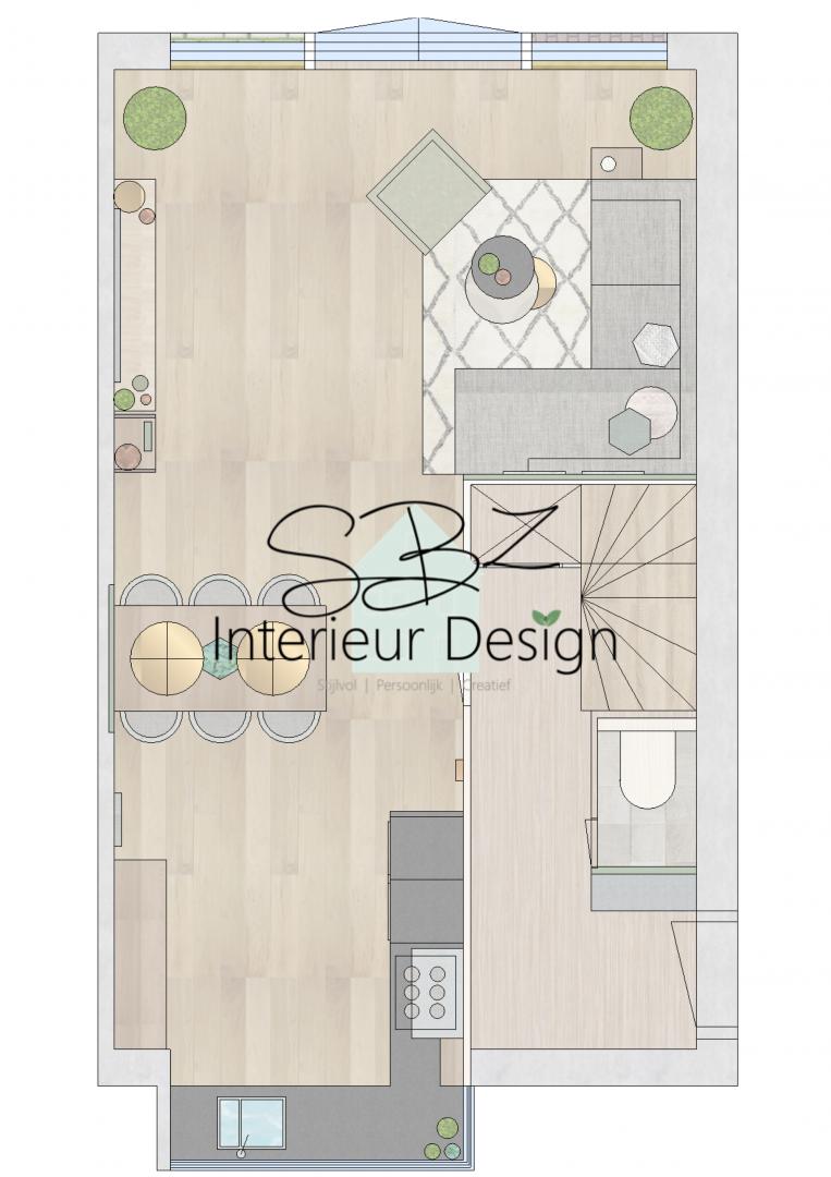 Interieurplan - Interieurontwerp - SBZ Interieur Design