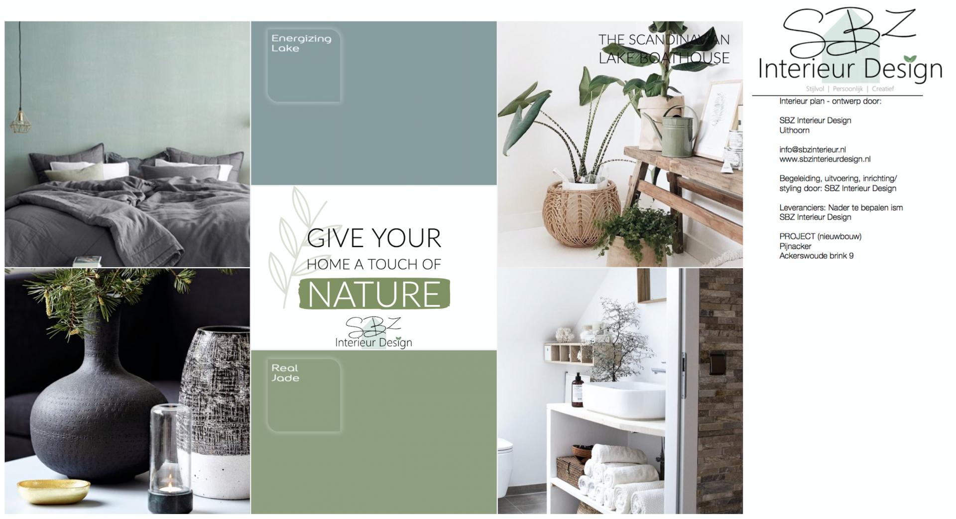 moodboard : stijlplan © SBZ Interieur Design