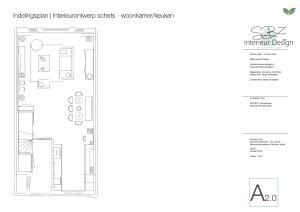 Interieurplan en interieurontwerp door SBZ Interieur Design © StijlvolStyling.com - sbzinterieurdesign.nl 0