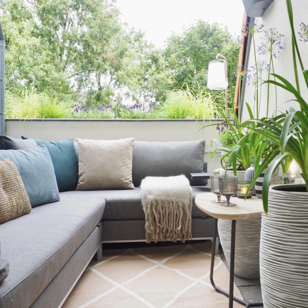 Balkon styling - ontwerp en interieur project © sbzinterieurdesign.nl