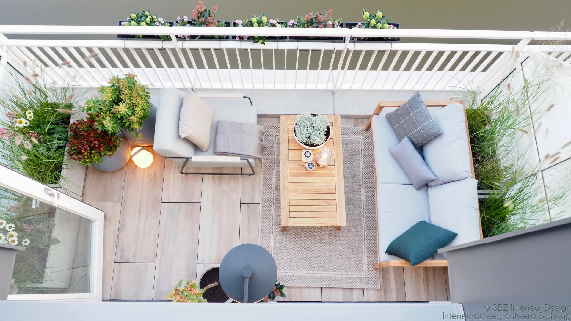Ontwerp en interieur project balkon Ackerswoude Brinkrijk © SBZ Interieur Design advies – ontwerp- interieur realisatie en styling – sbzinterieurdesign.nl 209