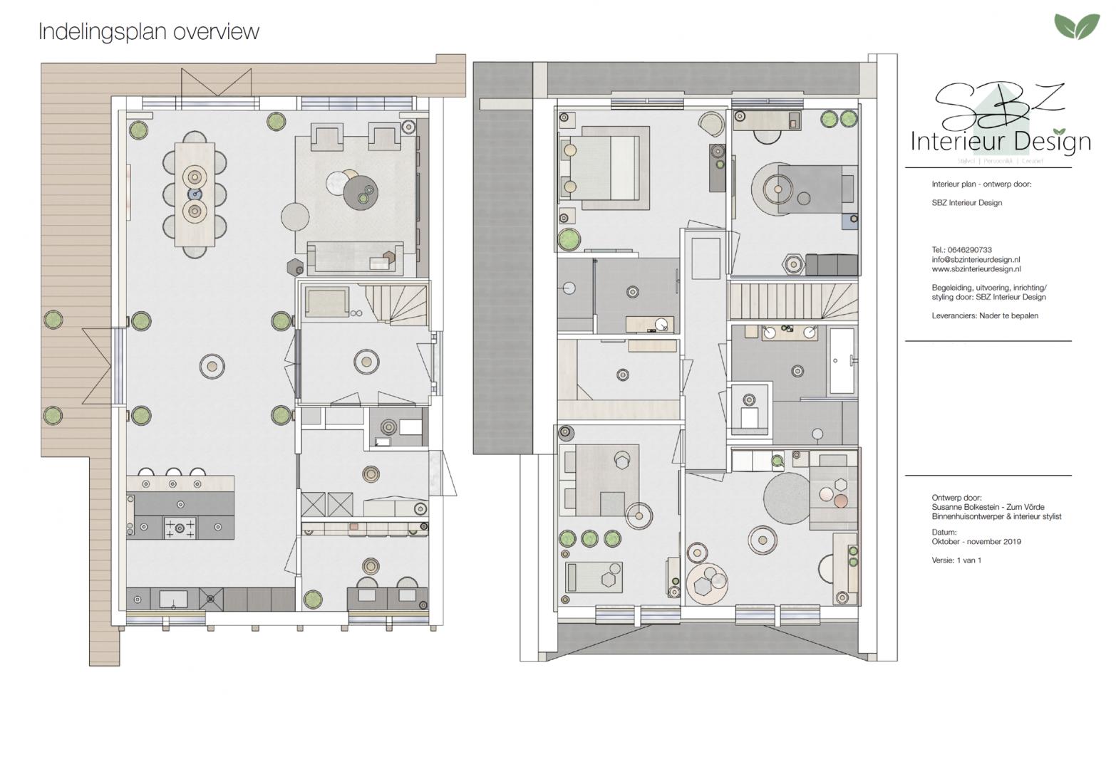 Ontwerp en interieur project woning Legmeer-West Uithoorn © SBZ Interieur Design advies - ontwerp- interieur realisatie en styling - sbzinterieurdesign.nl
