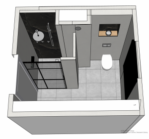 3D badkamerontwerp - Door-Susanne-Bolkestein-Zum Vorde-SBZ-Interieur-Design-interieuradvies-binnenhuisontwerp-interieurproject-interieurstyling-sbzinterieurdesign.nl