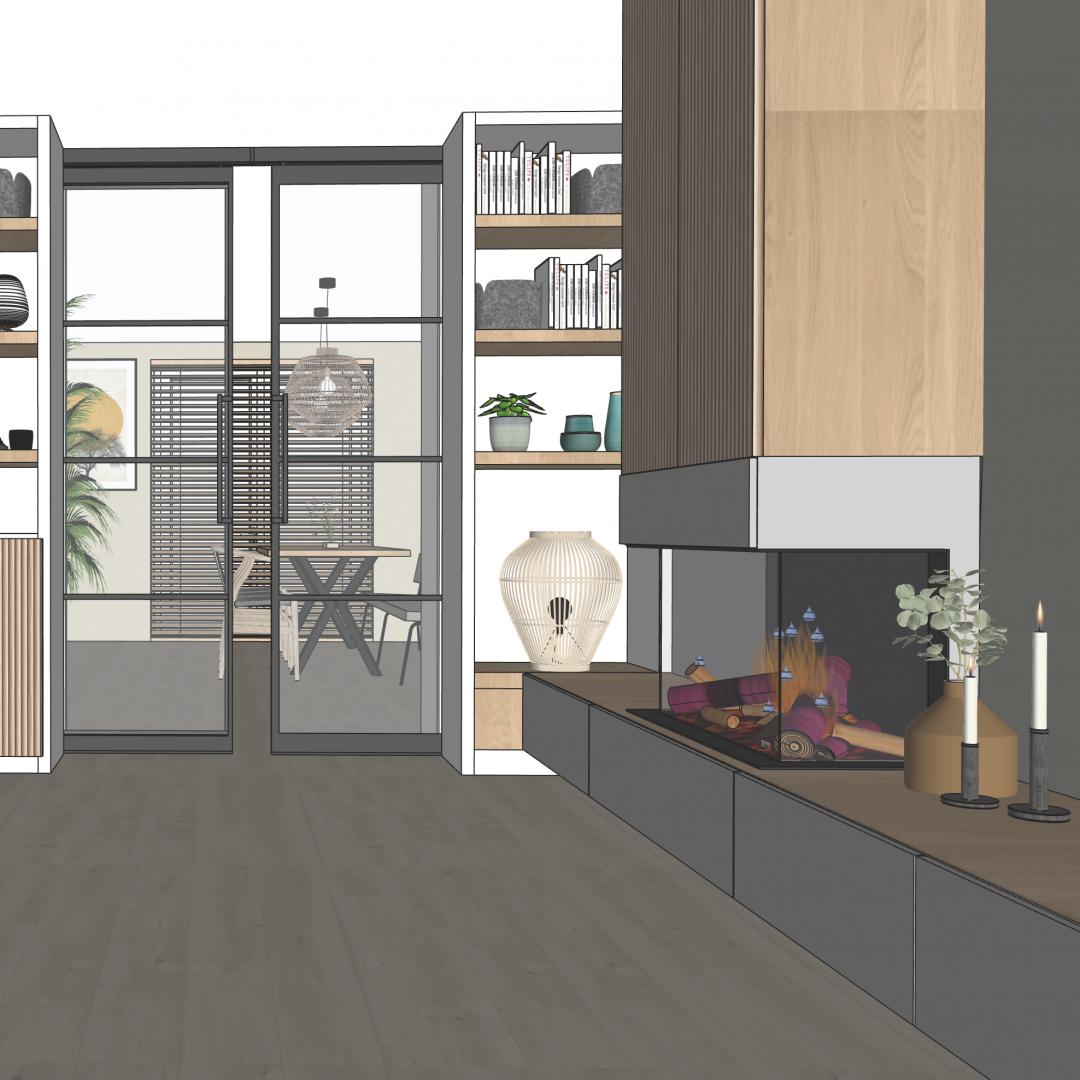 3D ontwerp - SBZ Interieur Design